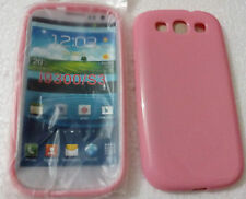for samsung galaxy s3 i9300 s3 neo i9300i soft silicon back case cover pink new