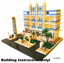 10182 10185 10190 10218 10232 LEGO Cocoa Hotel Building Instructions Only