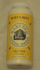 BURT'S BEES BABY BEE TALC FREE POWDER 7.5 OZ (LOTS OF 3)