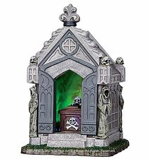 Lemax 34612 HAUNTED CRYPT Spooky Town Table Accent Halloween Decor New O G I