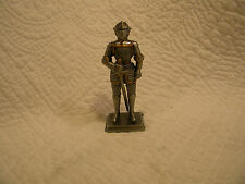 "YTC Summit Collection 8186 GERMAN KNIGHT, Made of Pewter,EXCELLENT,4"" Tall"