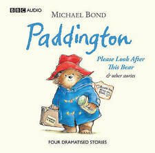 PADDINGTON PLEASE LOOK AFTER THIS BEAR - NEW/UNSEALED CHILDRENS CD AUDIO BOOK