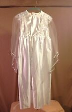 NEW GIRLS CHILD ANGEL DRESS GOWN COSTUME SIZE LARGE