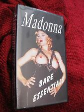 RAW Madonna BARE ESSENTIALS Rare SEALED Videotape VHS Erotica Box Set Sex Promo