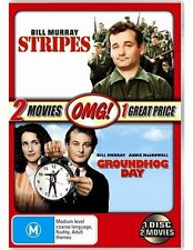 Groundhog Day / Stripes (OMG Pack) * NEW DVD * Bill Murray John Candy