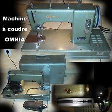 Machine à coudre ancienne OMNIA occasion en parfait état de fonctionnement