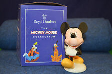 Lovely Rare Backstamp Royal Doulton Disney Mickey Mouse MM7 Figurine RD4869