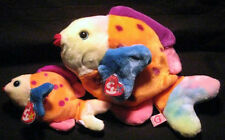 Ty * Lips (Fish) * Beanie Baby and Beanie Buddy Set
