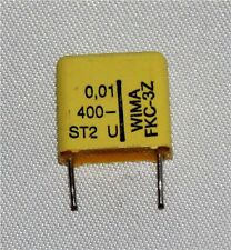 Polycarbonate Capacitor 0.01uF 400V (Pack of 2)