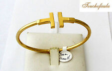 14K YELLOW GOLD  BANGLE BRACELET SIMPLE AND ELEGANT 7.4 GRAMS