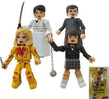 KILL BILL Set Figure HOUSE OF BLUE LEAVES 10 Anniversario MINIMATES Diamond NEW