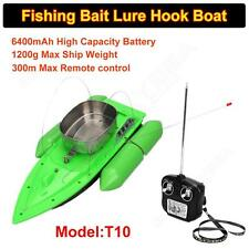 T10 Bait RC Boat Carp Fishing RC Boilies Runtime 8 Hours Anti Grass Wind 1200g