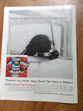 1959 Ken-L-Ration Dog Food Ad Puppy Dog No other Dog like Yours Spaniel Type?