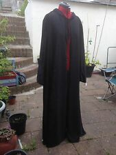 oversized black Crushed Velvet   hooded cloak with sleeves. more colours (144)