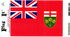 ONTARIO FLAG LAMINATED CAR SELF ADHESIVE VINYL DECAL STICKER NEW