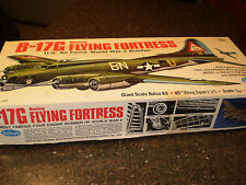Guillow's Boeing B-17G Flying Fortress Model Kit 2002 Wood Balsa Free Shipping