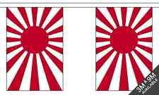 Japón Sol Naciente Nacional Banderitas 9 metros largo, 30 banderas