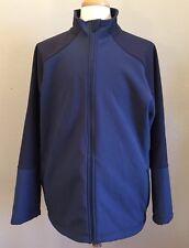 LL Bean Mens Pathfinder Soft-Shell Jacket XXL Large Tall Navy Blue