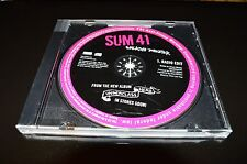 Rare Sum 41 Walking Disaster Promo Single CD 2007