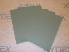 5 PIECES KYDEX T SHEET 297 X 210 X 2MM A4 SIZE (P-1 OLIVE DRAB GREEN 32140)