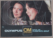 OLYMPUS OM System Manual For Flash Photography