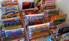 1 box lot 50 OLD COMICS MARVEL DC deadpool aquaman atom green arrow flash hulk