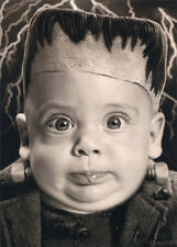 Halloween Baby With Bolted Neck - Stand Out Pop Up Funny Halloween Card