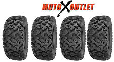 Sedona Rip Saw 25 ATV UTV Tires Set of 4 6 Ply 2 Front 25x8-12 Rear 25x10-12