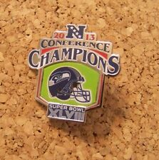 2013 NFC Conference Champions pin Seattle Seahawks NFL SB Super Bowl XLVIII 48