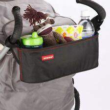 UNIVERSAL BABY STORAGE BAG with CUP HOLDER for BUGGY PRAM STROLLER PUSHCHAIR