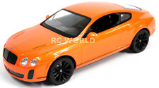 R/C 1/14 Radio Control Car BENTLEY CONTINENTAL Super Sport Orange / Black Wheel