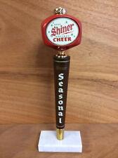 Shiner Seasonal Beer Holiday Cheer Beer Keg Bar Tap Handle NEW & Free Shipping