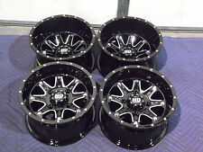 "12"" HONDA FOREMAN 450 ALUMINUM ATV WHEELS NEW SET 4 - LIFETIME WARRANTY T4"