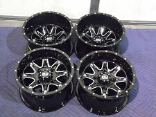 "12"" HONDA FOREMAN 500 ALUMINUM ATV WHEELS NEW SET 4 - LIFETIME WARRANTY T4"