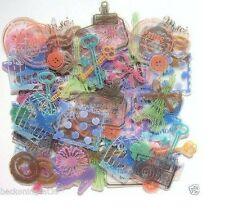 France Paris Stamp Bird Cat Sweet Camera Flake Sticker Scrapbook MIND WAVE JAPAN