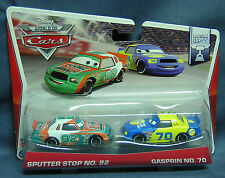 CARS - SPUTTER STOP & GASPRIN - Mattel Disney Pixar