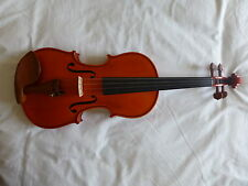 NEW HAND MADE VIOLIN, STRAD COPY, FLAMED MAPLE, WITH BOW AND CASE, FROM UK!
