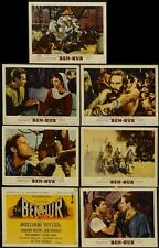 BEN-HUR MOVIE LOBBY CARDS POSTER Charlton Heston RARE