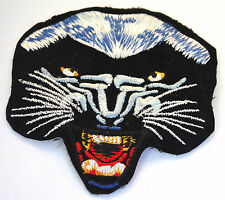 BLACK PANTHER JAGUAR PUMA  Embroidered Iron Sew On Cloth Patch Badge  APPLIQUE