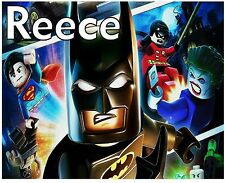 Personalised Lego Batman Kids A5 Jigsaw Puzzle - Great Gift -