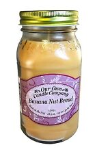 Banana Nut Bread Scented Candle in 18.5 oz Mason Jar by Our Own Candle Company