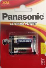 Panasonic 2CR5 Lithium Photo Battery, DL45, KL2CR5, 5032LC
