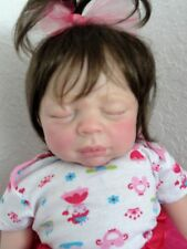 "Reborn Baby Kaya- now ""Kylie""- sleeping w. heart beat!"