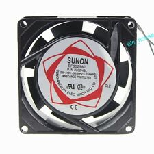SUNON 220V 240V 8cm 80mm x 80mm x 25mm AC Brushless Cooling Industrial Fan