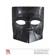 Black Dodge Mask with Glitter for Venetian Masquerade Carnival Fancy Dress Acces