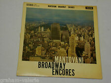 Mantovani Broadway Encores vinyl LP Album