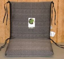 (2) Outdoor Patio Chair Cushions ~ Bentley Textured ~ 20 x 35 x 2.75  **NEW**