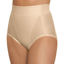 GLAMORISE High-Waist Brief 28 MEDIUM Firm Hip Tummy Control SHAPER Cafe NEW $41