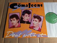 COMATEENS - DEAL WITH IT - LP - 206 468-320 - EUROPE 1984 (DI732)