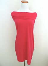Women's Express Hot Pink Off the Shoulder Dress Size Small